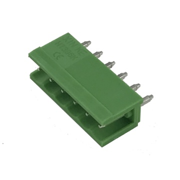Terminale connettore pin PCB plug-in passo 3,96 mm