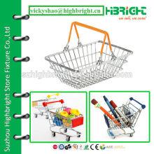 mini super small size metal shopping basket