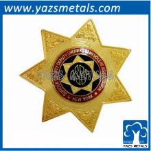 personaliza el perno de la alta calidad, insignia militar de la estrella de encargo