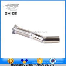 Tubo de escape flexible del acero inoxidable del motor de la pieza de autobús para Yutong