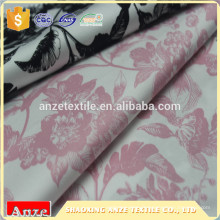 Tissu en satin de coton extensible de haute qualité en gros