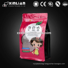 high quality square bottom plastic dried fruit pouch for food packaging