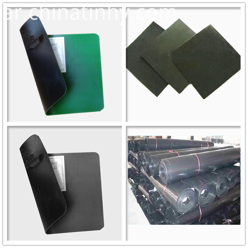 40mils HDPE geomembrane as sea cucumber pond liner