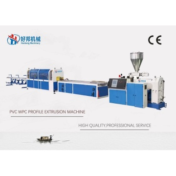 2021 WPC PVC PROFILE EXTRUSION MACHINE LINE
