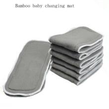Estera de bambú acolchada plegable del cambiador del bebé