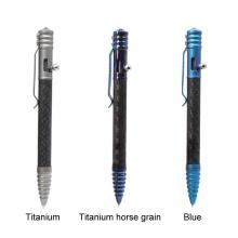 Тактическая ручка с наконечником из оксида кремния с корпусом из углеродного волокна