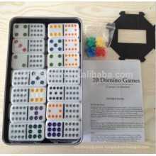 Double 12 Domino set With Tin box