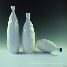 Vaso de cerámica de porcelana blanca Casa de moda de lugar contratado contemporáneo lugar de sentarse