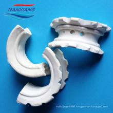 Ceramic Super Intalox Saddle Ring for distillation system