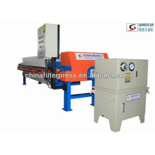 Multifunctional Chamber Filter Press With Auto Shifting Systems