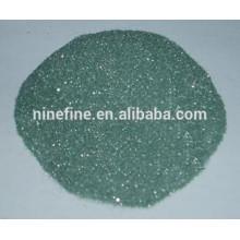 Siliziumkarbid schwarz und grün