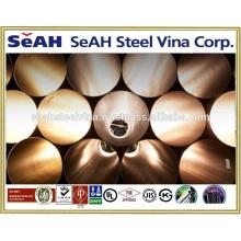 """1 """"-8"""" Tubo de acero galvanizado a JIS 3466, JIS 3444, UL6, FM y varias normas exportadas al mercado de Tailandia"""