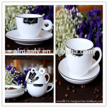 Porcelain & Ceramic Coffee Cup and Saucer Sets