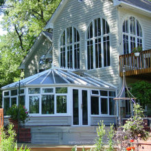 Aluminium Irregular Shaped Double Tempered Glass Garden Sunroom (FT-S)