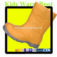 JX-916BOR colorful TPR Kids Warm Boots for Kids