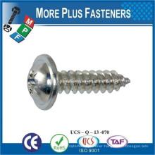 Made in Taiwan DIN 968 Cross Recessed Pan Head Self Tapping Screw