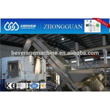 Automatic plastic PET container unscrambler machinery