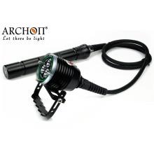 Archon 3, 000lm алюминиевого сплава подводный светодиодный фонарик дайвинг фонарик