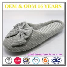 Super soft indoor quiet woman slippers