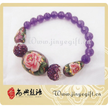 Мода Цветок Бусины Браслет Ювелирные Изделия Аксессуары