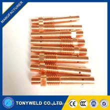 Suporte de ponta de contato de cobre da tocha de soldagem 350A mig para Panasonic Tipo