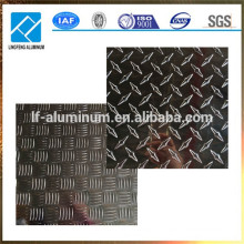 1060 3002 5052 6061 8011Metal Alloy Aluminum Checked Plate Manufactured