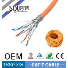 SIPU haute vitesse stp réseau meilleur prix lzsh veste nu cuivre gros cat7 ethernet câble