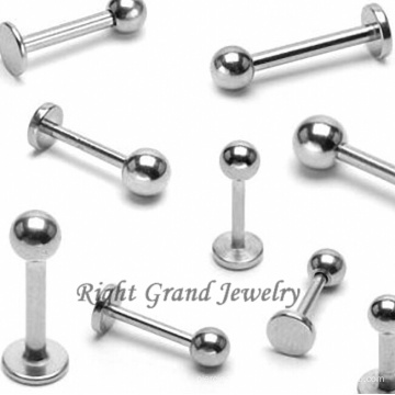 Customized Jewelry Factory G23 Titanium Fake Lip Piercings