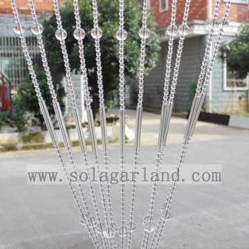 Latest Popular Acrylic Crystal Beads Window Curtain