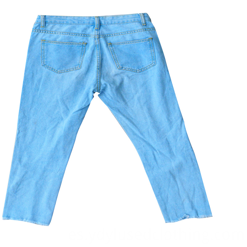 Pencil Jeans Used Clothing Bales