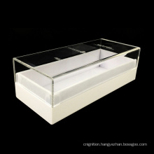 Removeable Lid Luxury Handmade Clear Plastic Gift Acrylic Custom Packaging Box