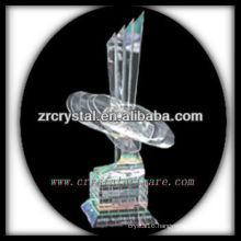 attractive design blank crystal trophy X022