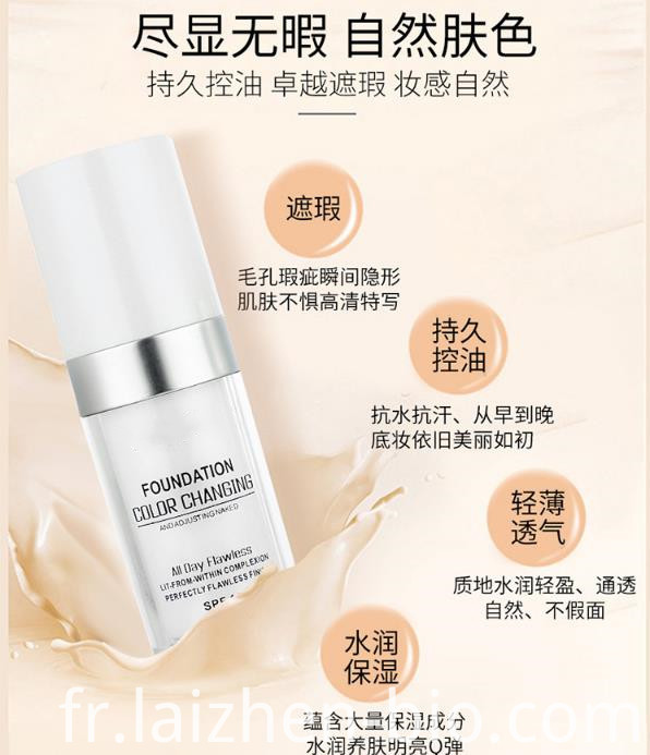 long-lasting liquid foundation