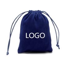 Custom 2020 printed logo jewelry drawstring bag