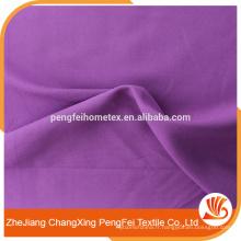 80GSM 100% polyester Tissu teint teinté à bas prix