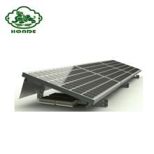 Sistema de montaje de soportes de bastidores de fijación a tierra de paneles solares