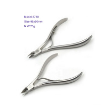 High Quality Stainless Steel Sharp Cuticle Nipper With Single Spring