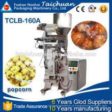 Baixo preço Aço inoxidável 304 corpo com data impressora pipoca embalagem máquina preço
