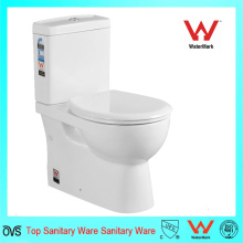 Двухкомпонентный фарфоровый сантехнический шкаф для воды, двухкомпонентный керамический туалет