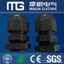 Impermeabilice la glándula de cable de Nylon66 pg con diverso tamaño del hilo, waser plano, aprobación del CE
