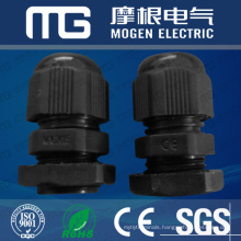 Water-proof Nylon66 pg cable gland with different thread size ,flat waser , CE approval