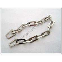 Aleación de zinc decorado cadena para bolsas