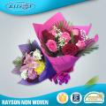 Gesponnenes frisches Blumen-Blumenstrauß-Packpapier-nichtgewebtes Gewebe-Papier Koreas nicht für die Verpackung der Blume