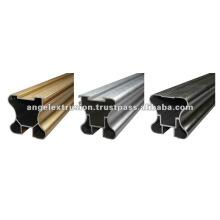 Profil en aluminium pour cloison de portes