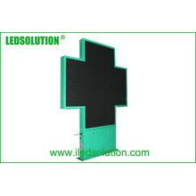 High Quality 64X64 Resolution Pharmacy Cross LED Display
