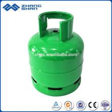 Usine de remplissage de cylindre de cuisinière à gaz GPL à brûleur unique 3KG