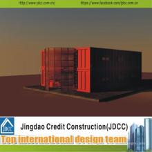 Faible coût et joli bâtiment préfabriqué