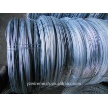 Fil d'acier galvanisé de 3 mm de diamètre / fabrication de fils de reliure