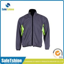 Panas menjual kain sliver safety reflective material clothing