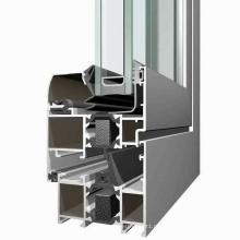 6063 perfis de portas e janelas de alumínio de alta qualidade